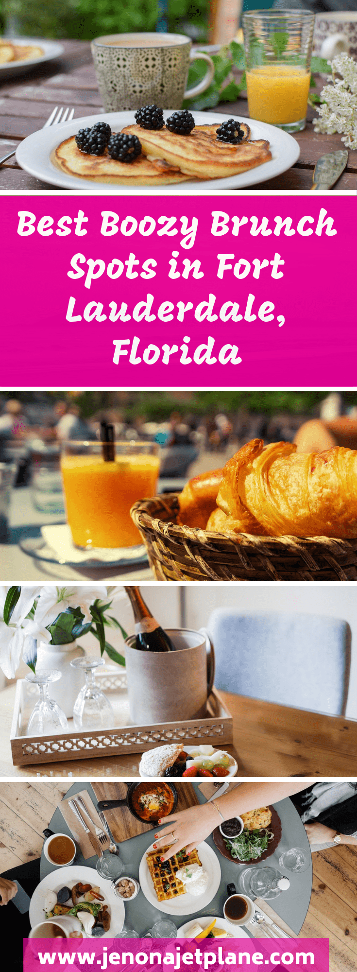 Ready to get your brunch on? Downtown Fort Lauderdale has an impressive brunch scene, with restaurants serving bottomless mimosas on Saturdays and Sundays. Celebrate your Fort Lauderdale vacation with a mimosa at these top spots! Don't miss the best brunch deals in Fort Lauderdale, Florida. Save to your travel board for future reference. #fortlauderdale #brunchspots #travelreviews #floridatravel #visitflorida