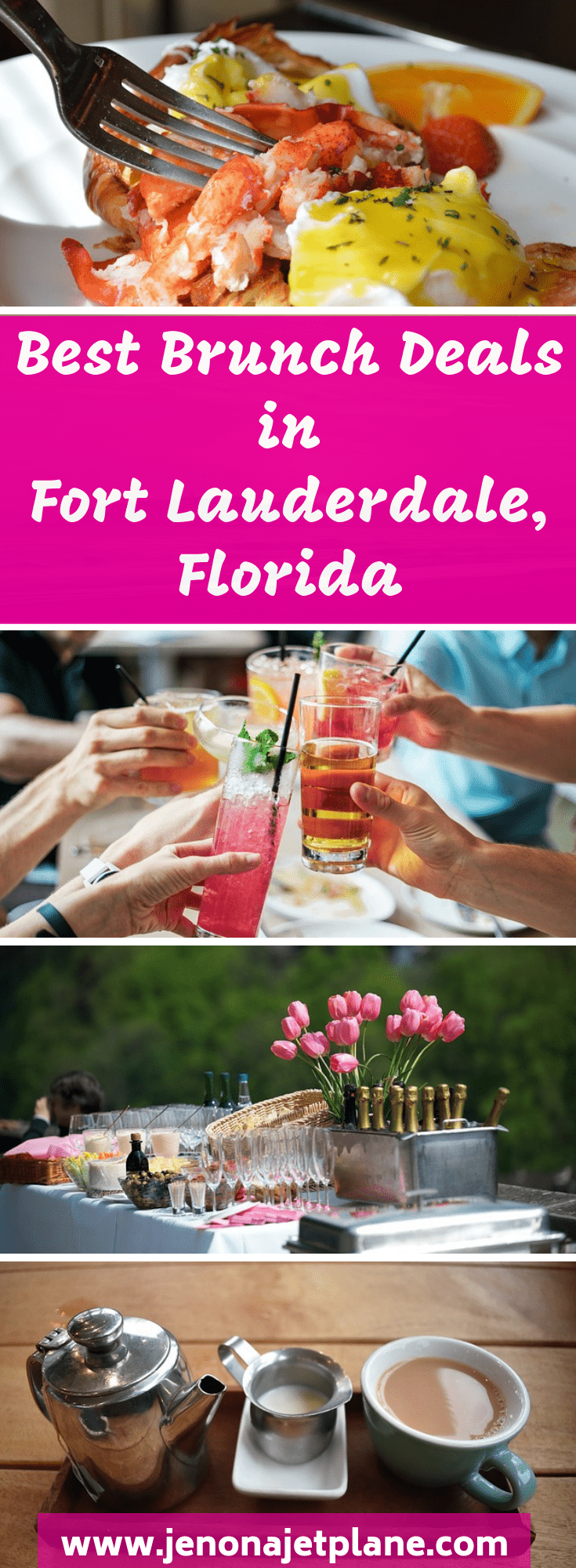 Ready to get your brunch on? Downtown Fort Lauderdale has an impressive brunch scene, with restaurants serving bottomless mimosas on Saturdays and Sundays. Celebrate your Fort Lauderdale vacation with a mimosa at these top spots! Don't miss the best brunch deals in Fort Lauderdale, Florida. Save to your travel board for future reference. #fortlauderdaleflorida #brunch #bestrestaurants #sundaybrunch #floridatrip #travelblogger