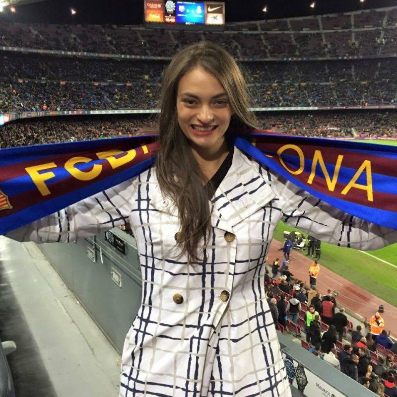 Supporting FC Barcelona at Camp Nou