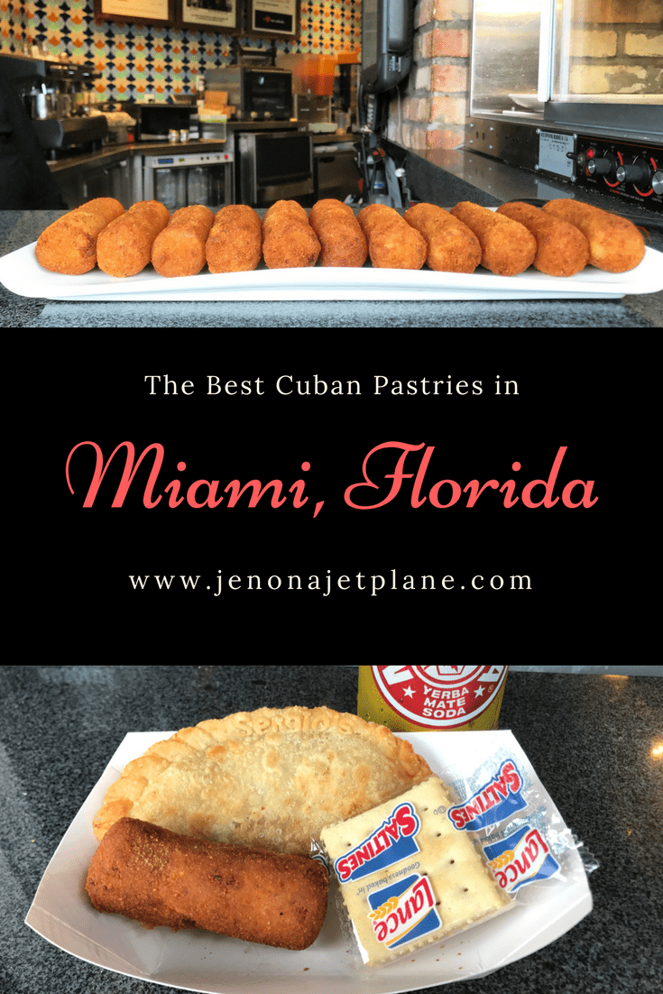 Where to find the best Cuban pastries and croquetas in Miami, Florida!
