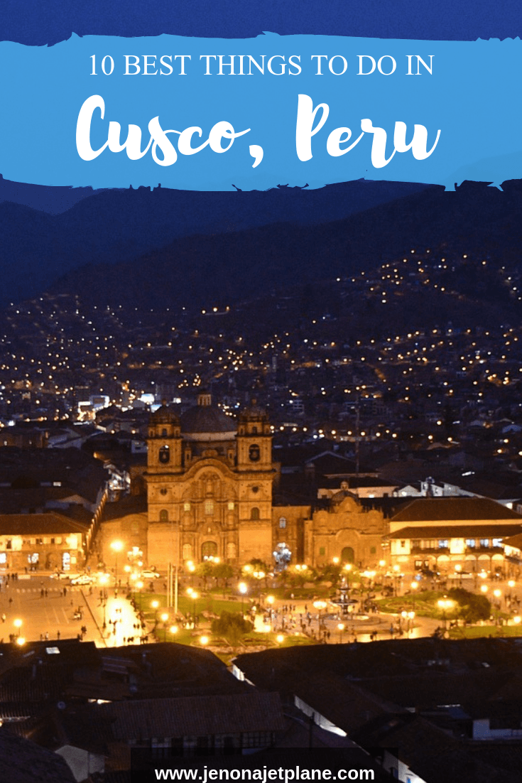 Passing through Cusco on your way to Machu Picchu? The city is worth a visit in its own right, with attractions like a family-run planetarium and museum of medical herbs. If you're going to Cusco, here are 10 things to do that you can't miss. Save to your travel board for future reference. #cuscoperu #cuscotravel #cuscotravelguide #perumustsee #perutravel #cuscoperuthingstodo