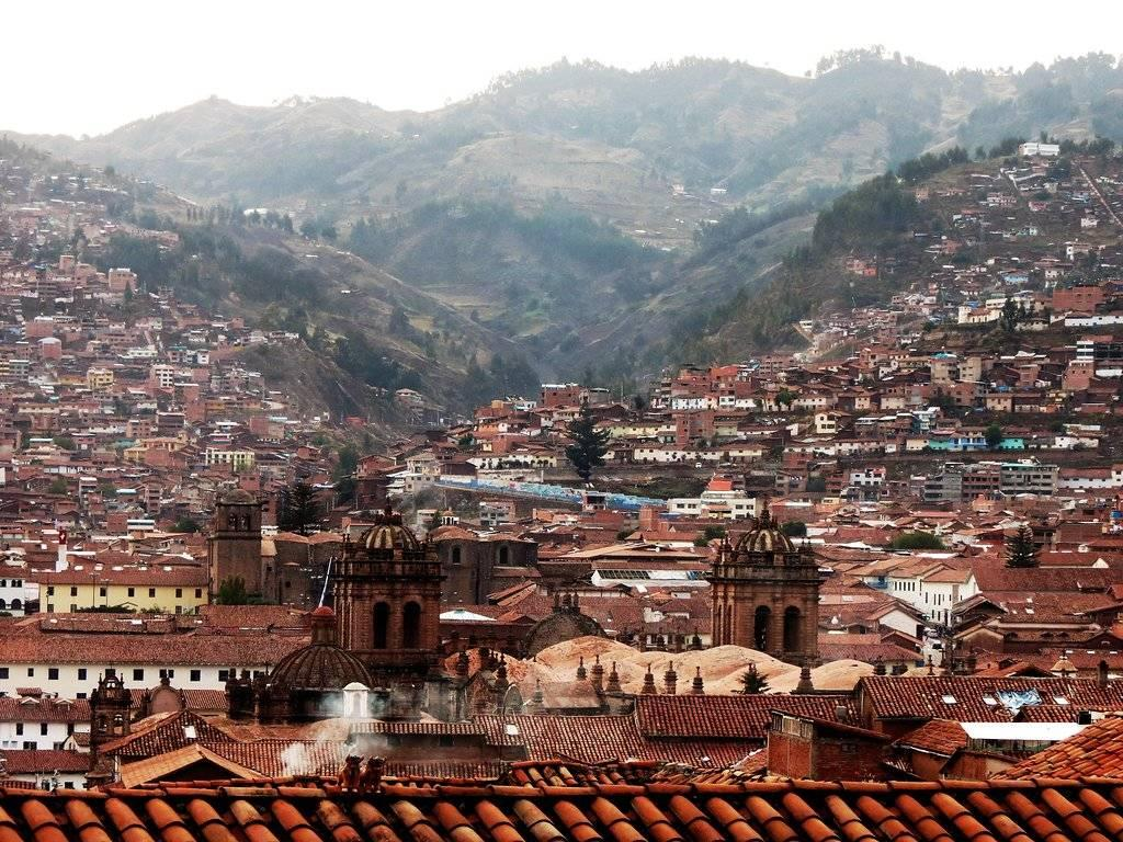 View of Cusco from above