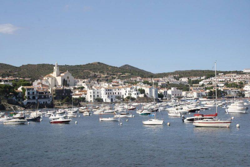 View of Cadaques waterfront