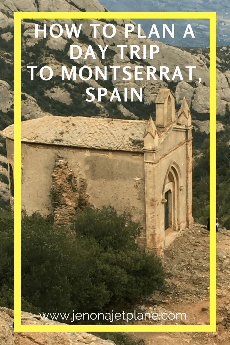 Montserrat makes the perfect day trip from Barcelona, Spain. See the Black Madonna, listen to the famous Boys Choir and hike the serrated mountains. Don't leave Spain without seeing Montserrat. Save this to your travel board for inspiration. #montserrat #spaintravel #daytrips #visitspain