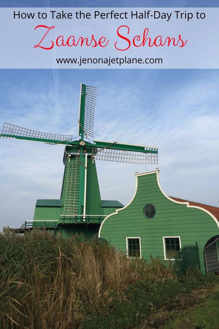 Want to take the perfect day trip to Zaanse Schans? This makes an easy excursion from Amsterdam. Here's everything you need to know, from hot to get there to what windmills to tour. Experience authenticity and living history in the Netherlands!