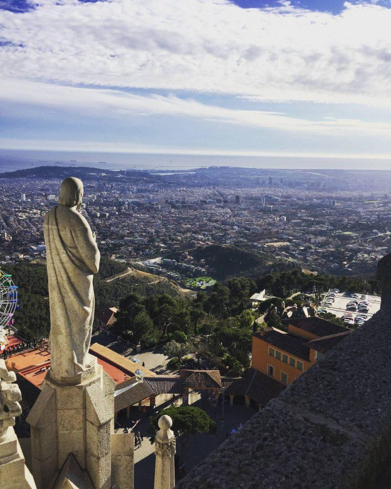 Views of Mount Tibidabo