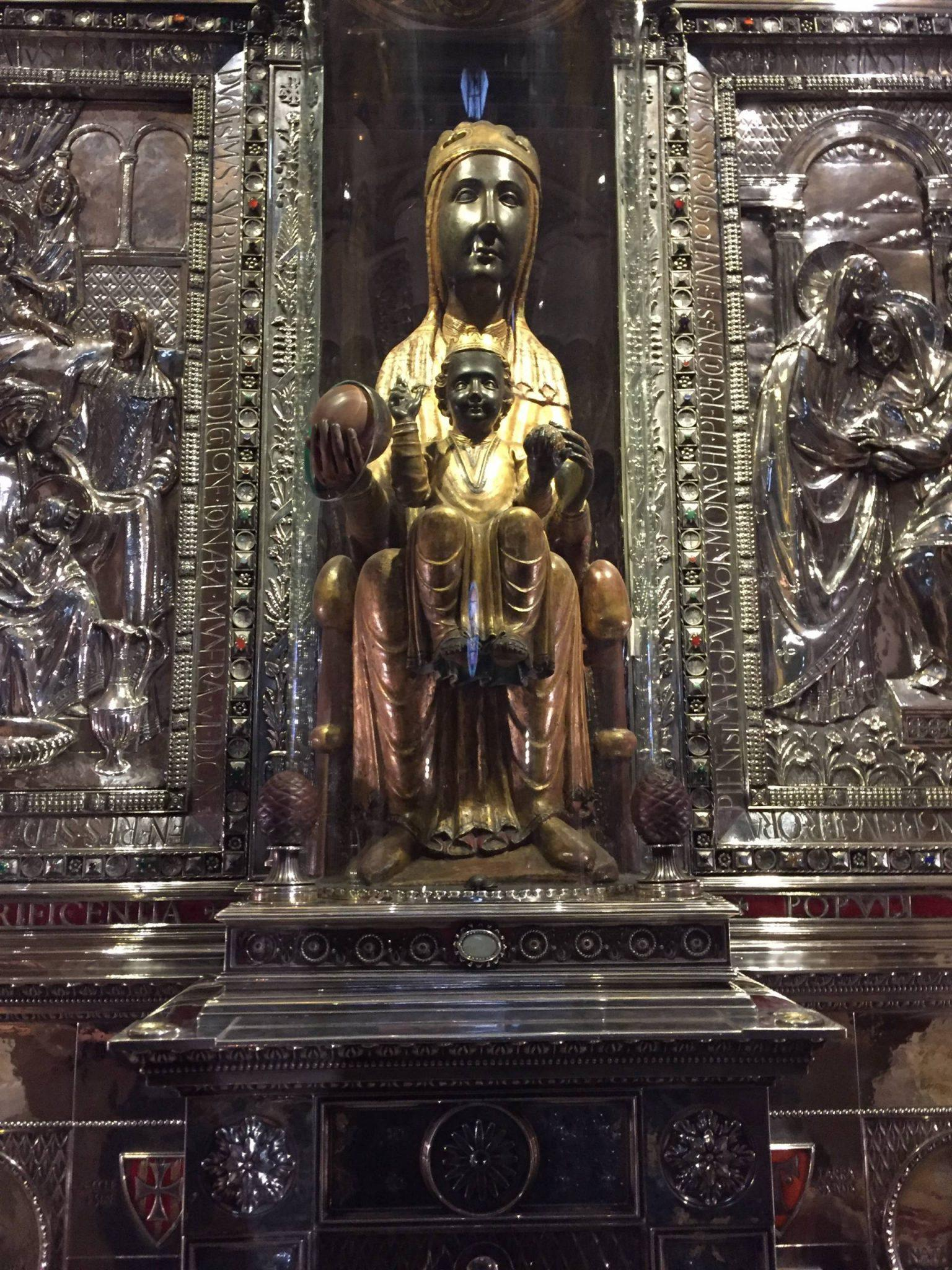 Close Up of the Black Madonna