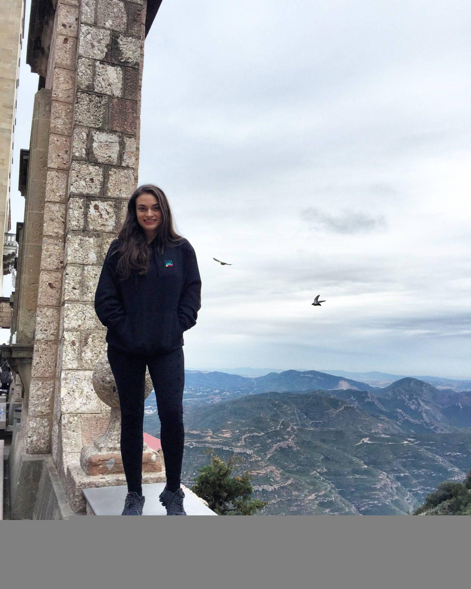 View from the church on top of Montserrat