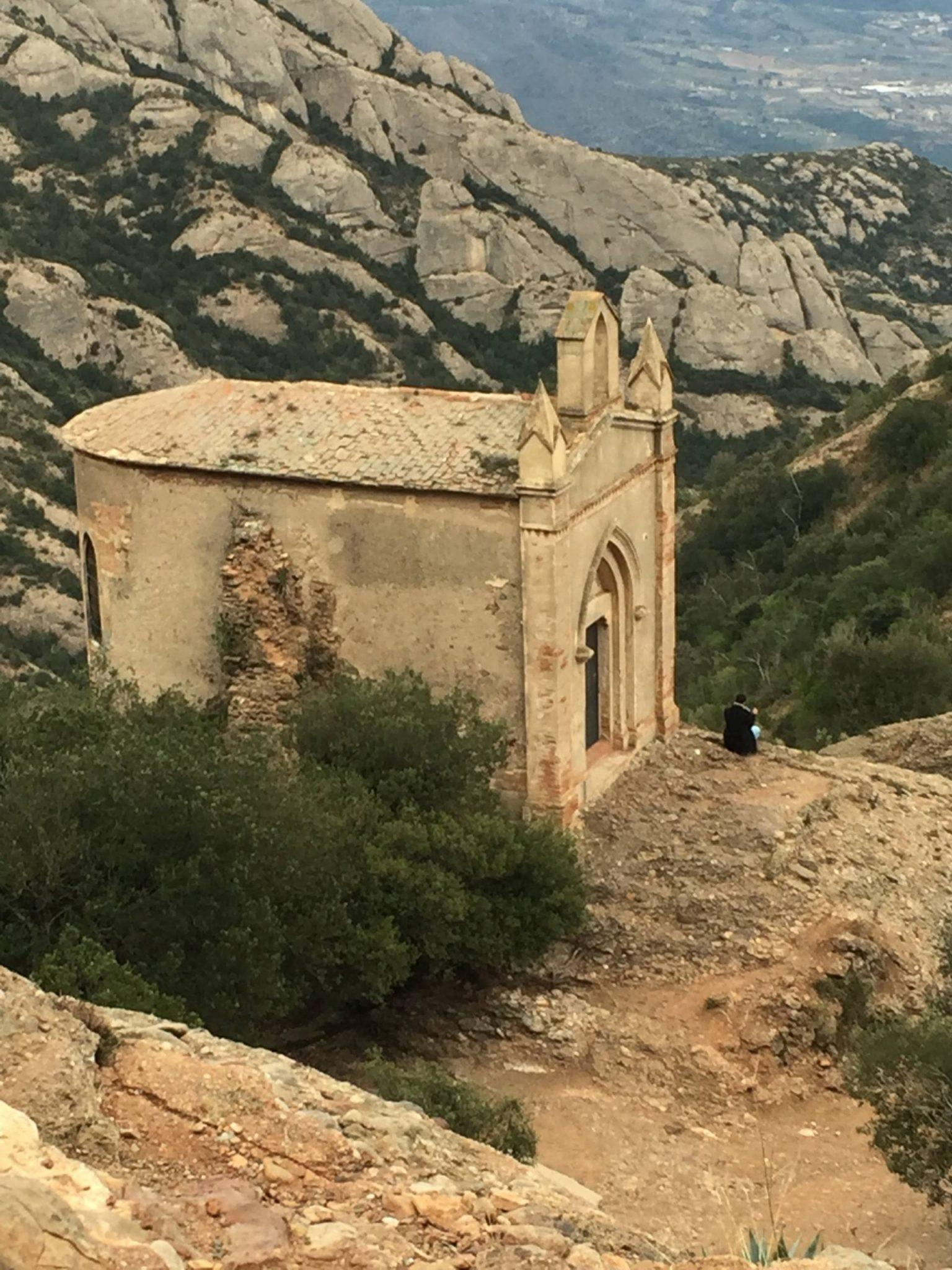 Small church seen on the hike