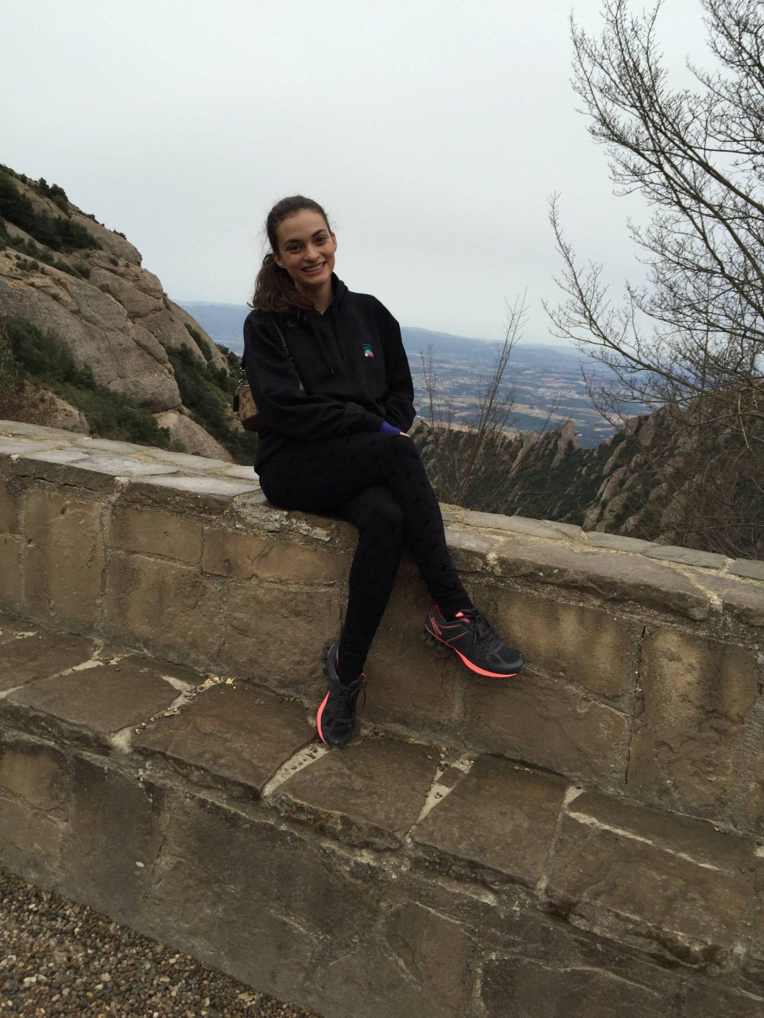 Climbing the Sant Joan trail