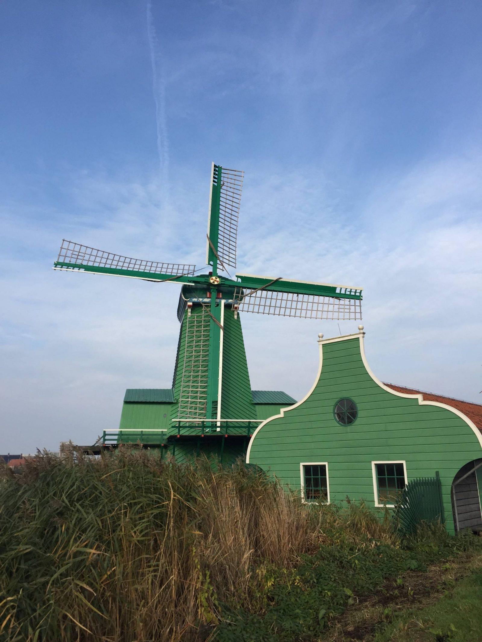 Chasing Windmills in the Netherlands: Day Trip to Zaanse Schans
