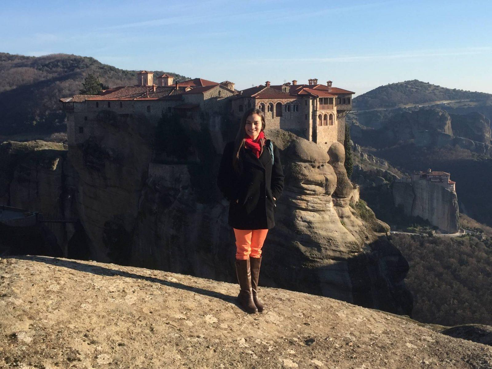 Visiting the Monasteries of Meteora, Greece