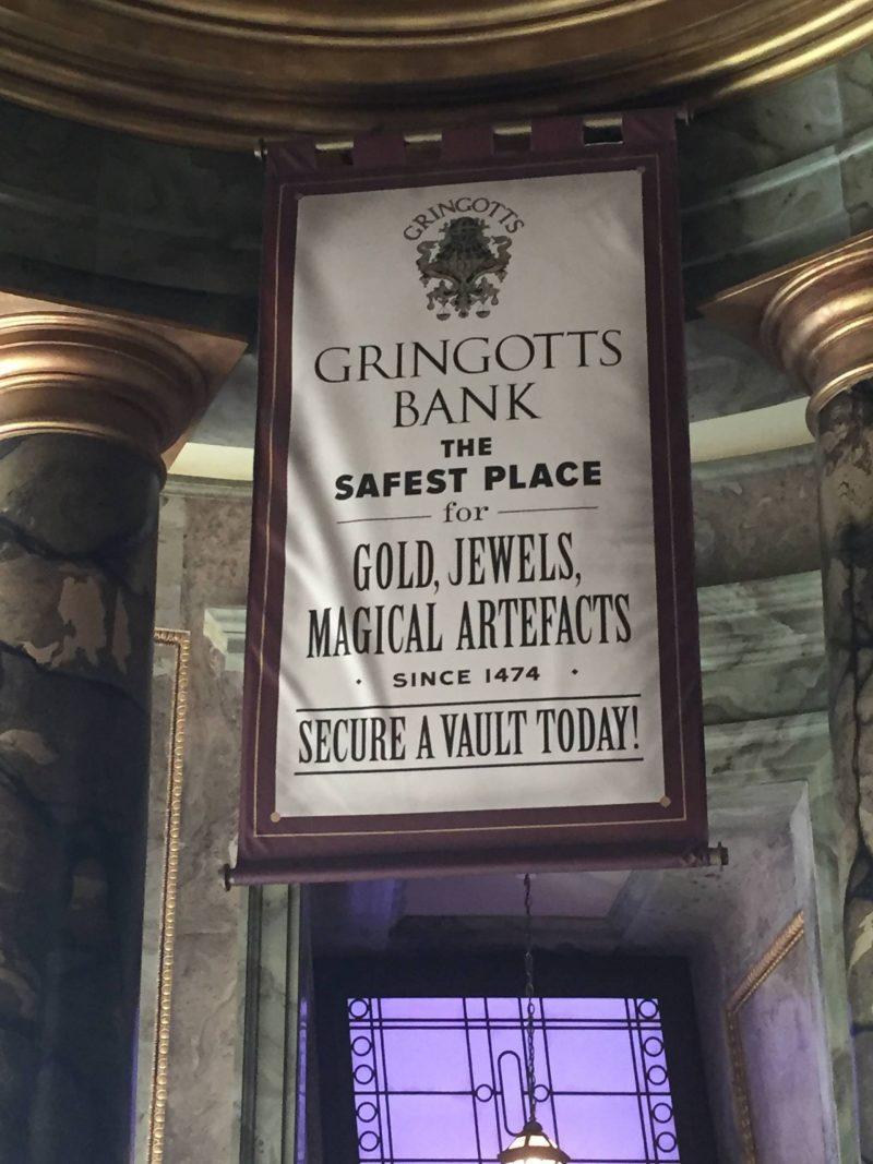 Gringotts ride