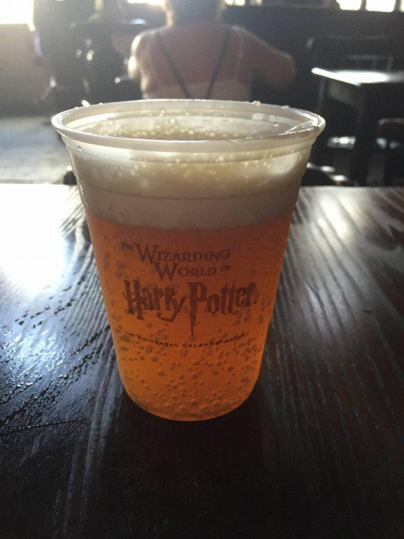 Butterbeer with froth
