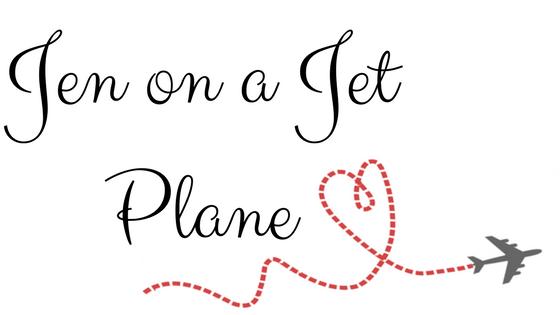 Jen on a Jet Plane