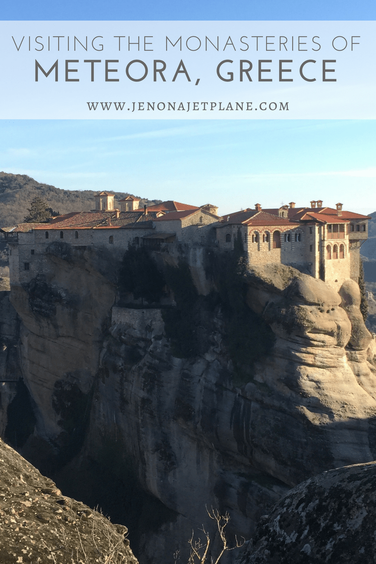 Everything you need to know to visit Meteora, Greece, a UNESCO World Heritage site!