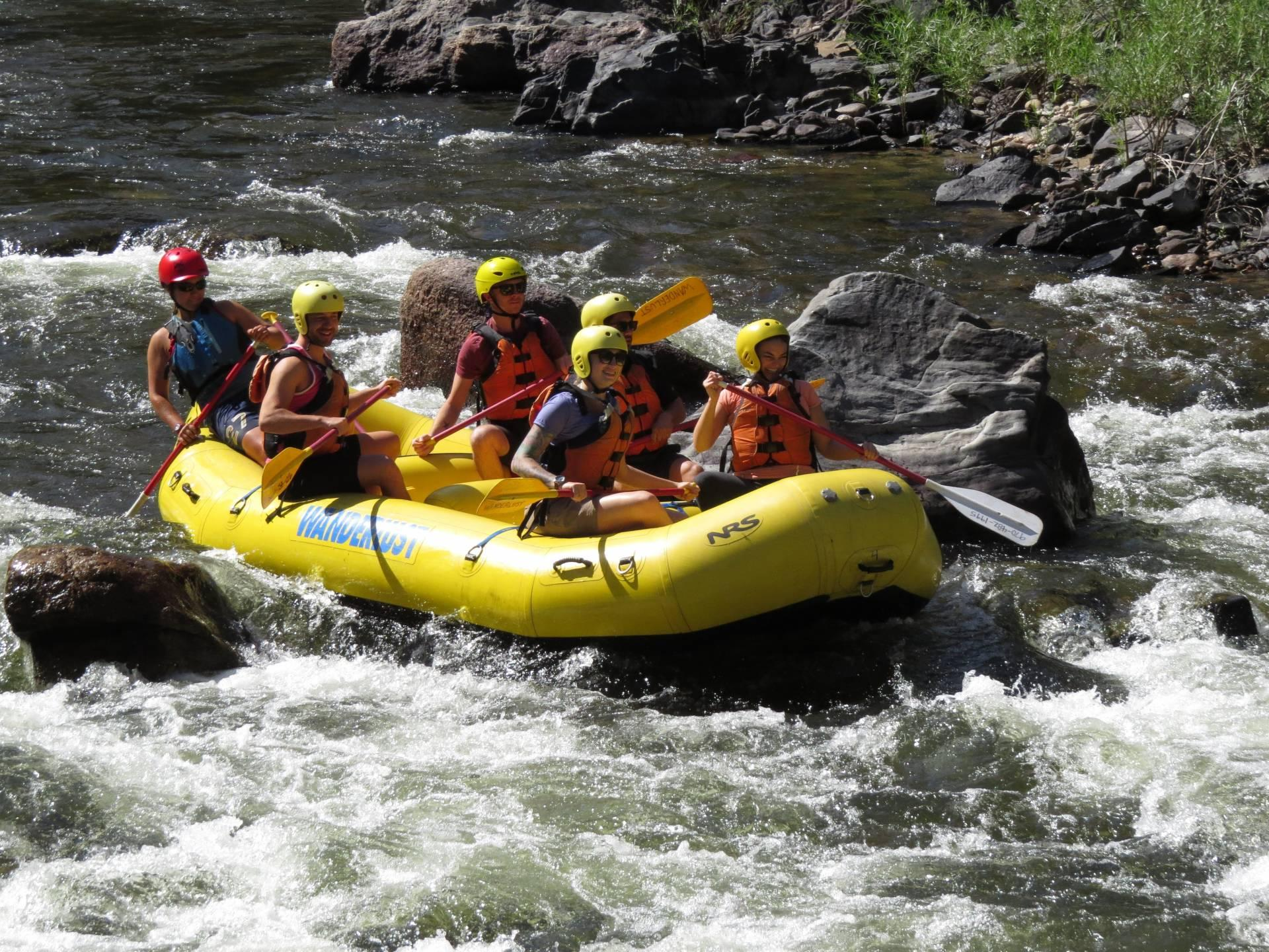Whitewater Rafting La Poudre