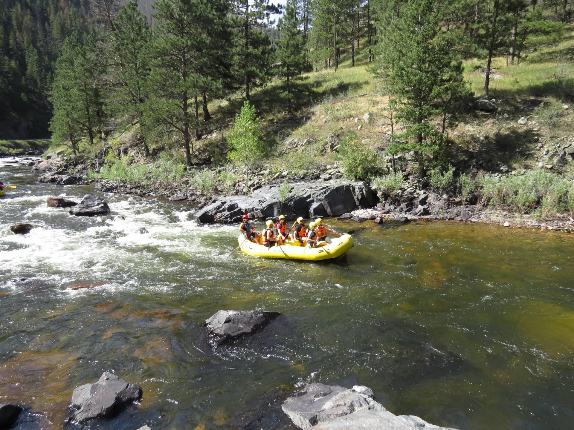 My Whitewater Rafting Adventure at La Poudre River, Colorado