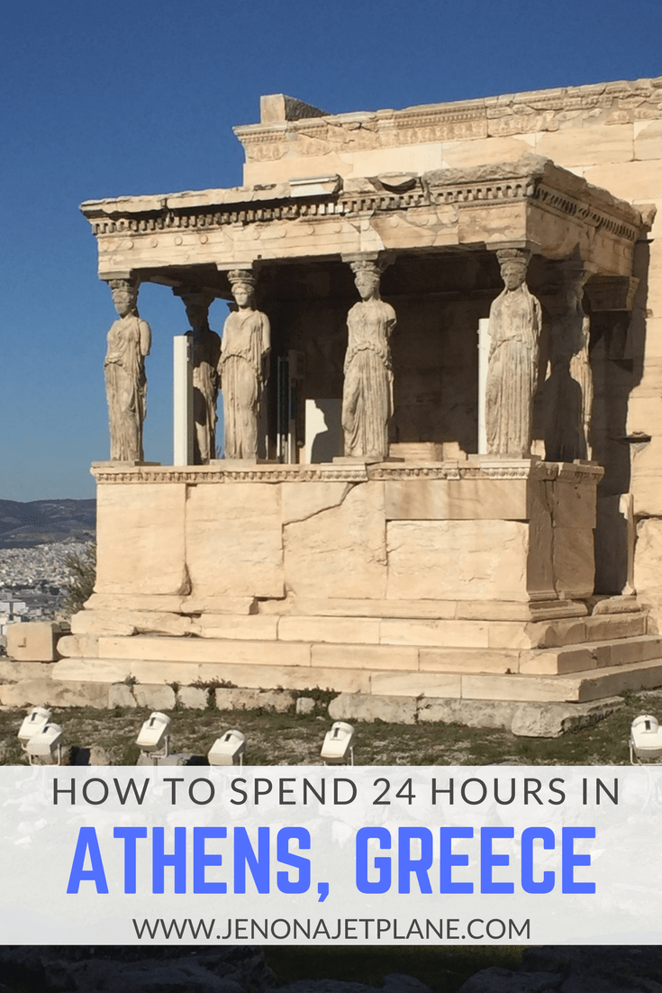How to spend the perfect 24 hours in Athens, Greece. Explore the Parthenon and feast on gyros and moussaka!