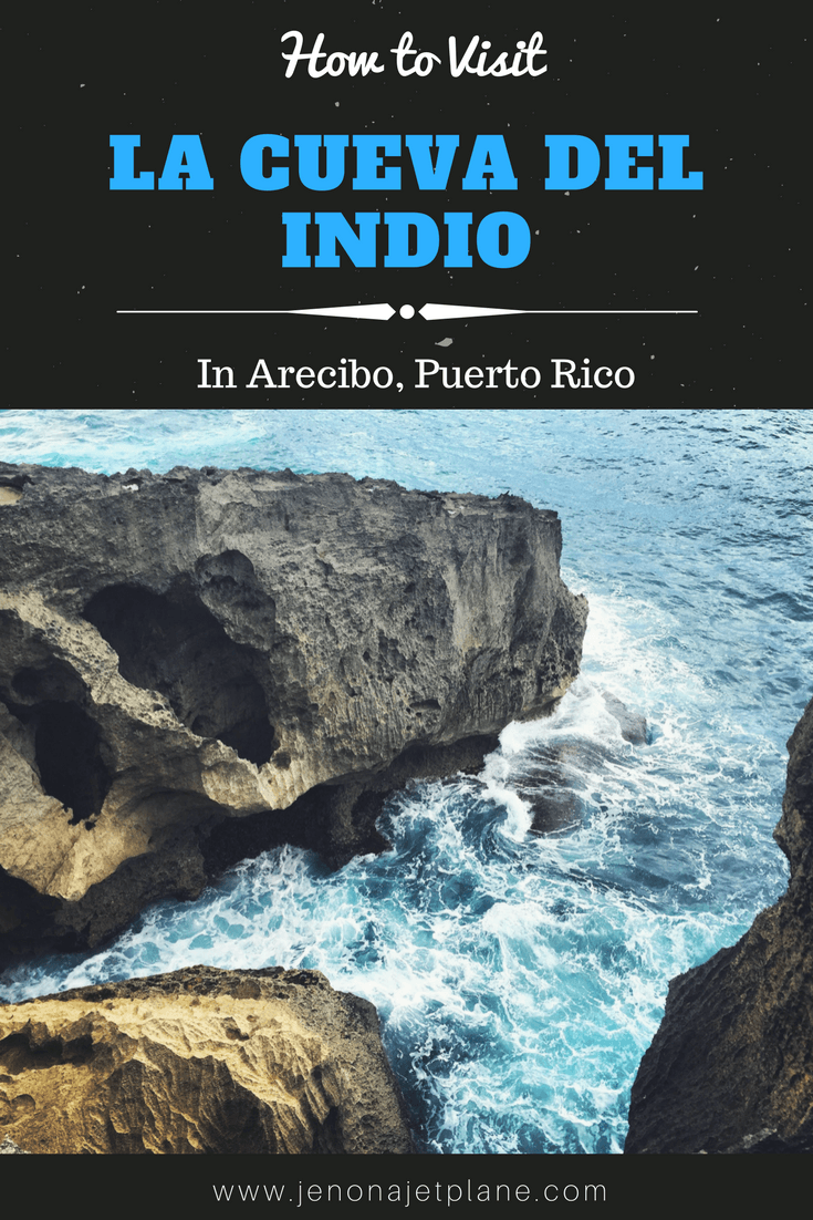 La Cueva del Indio, or Indian Cave, is a cave in Arecibo Puerto Rico with Taino Indian Petroglyphs, cliffs and beautiful blue waters. Don't miss this cave while visiting Puerto Rico!