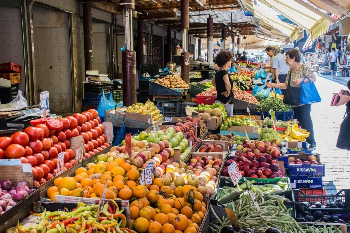 Market in Athens