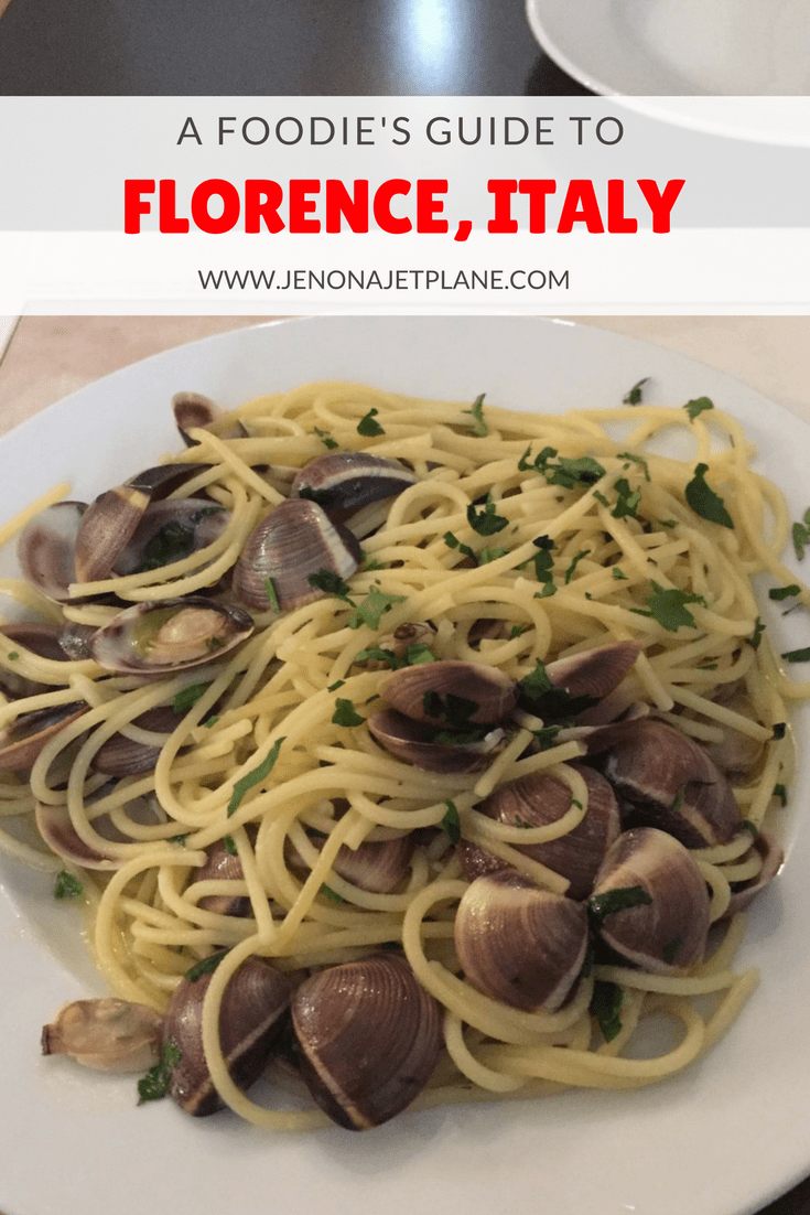 Everything you need to eat in Florence, Italy--from pizza to pasta!