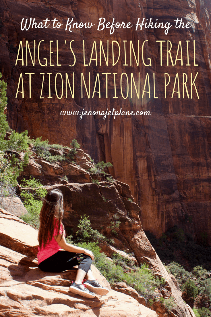 The Angel's Landing Trail at Zion National Park is one of the most perilous hikes in the world! Don't go in there unprepared. Here's everything you need to know before attempting to hike Angel's Landing in Utah, North America! Save to your travel board for future reference. #zionnationalpark #angelslanding #hikingtips #adventuretravel