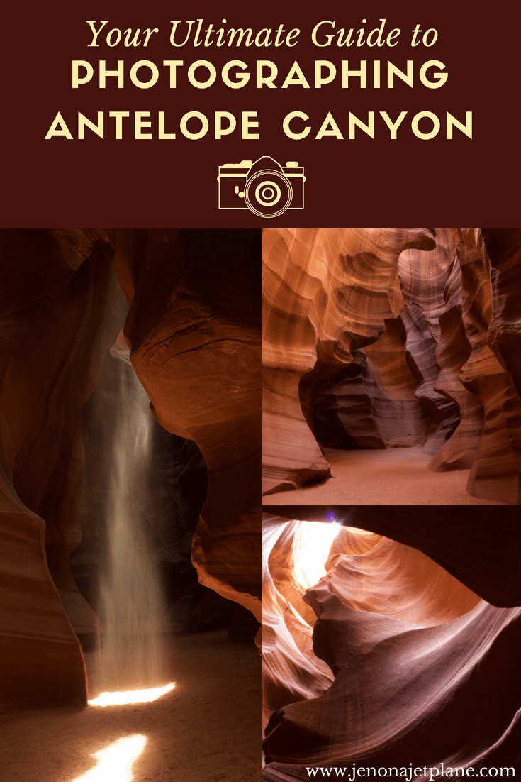 Antelope Canyon is famous for photography. Here's everything you need to know to successfully capture sunbeam shots, book permits and figure out if you want to visit Upper or Lower Antelope Canyon. This is your complete guide to photographing Antelope Canyon, save to your travel board for future reference! #antelopecanyon #photographytips #photoguide #phototour #travelphotography