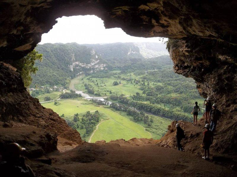 Window Cave in Puerto Rico