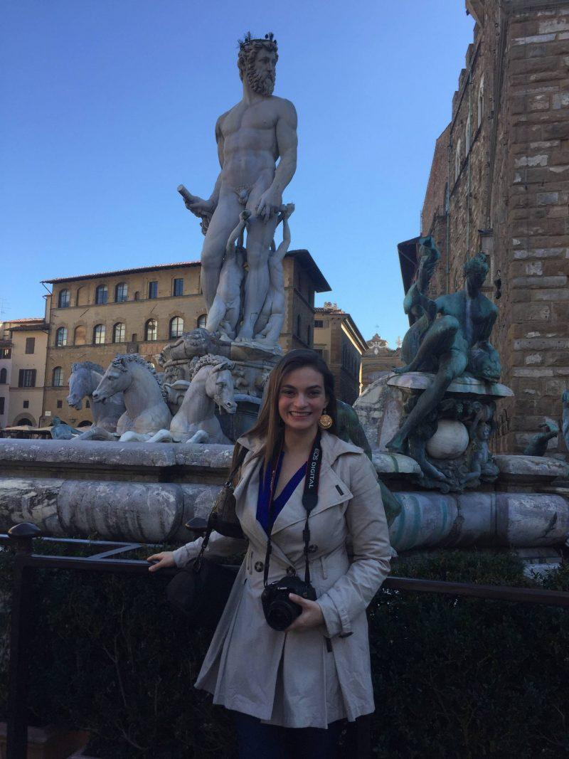 Florence Art Neptune Fountain