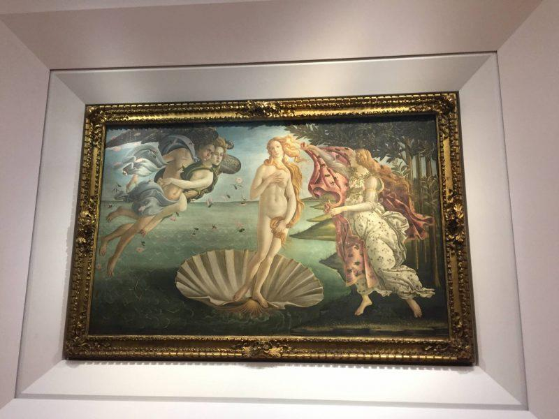 Birth of Venus Florence Art
