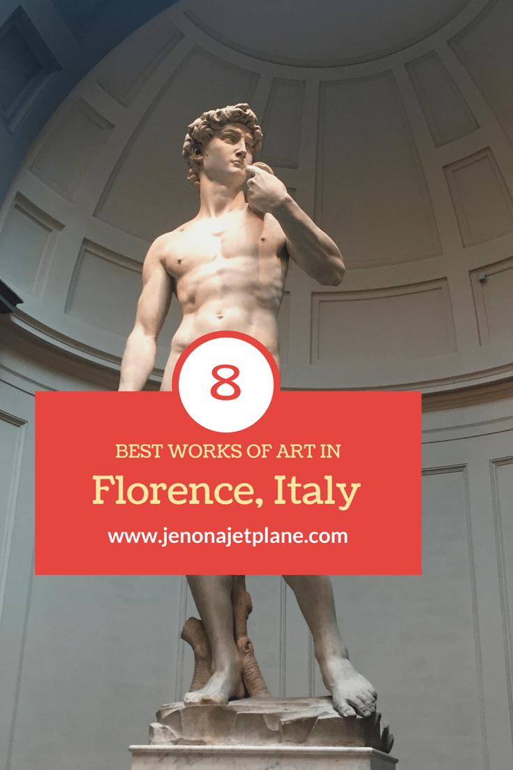The best works of art in Florence, Italy, by artists like Michelangelo and Donatello!