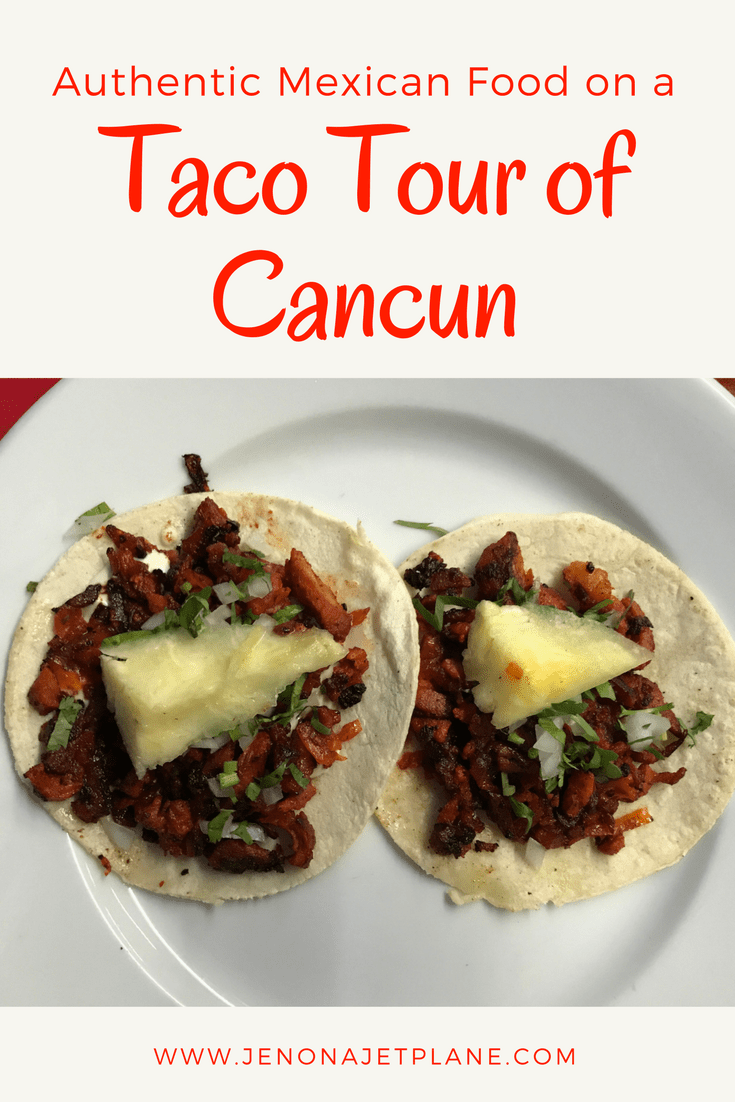 Eat like a local on a Taco Tour of downtown Cancun. Try tacos al pastor and even marquesitas for dessert, all for just $15!