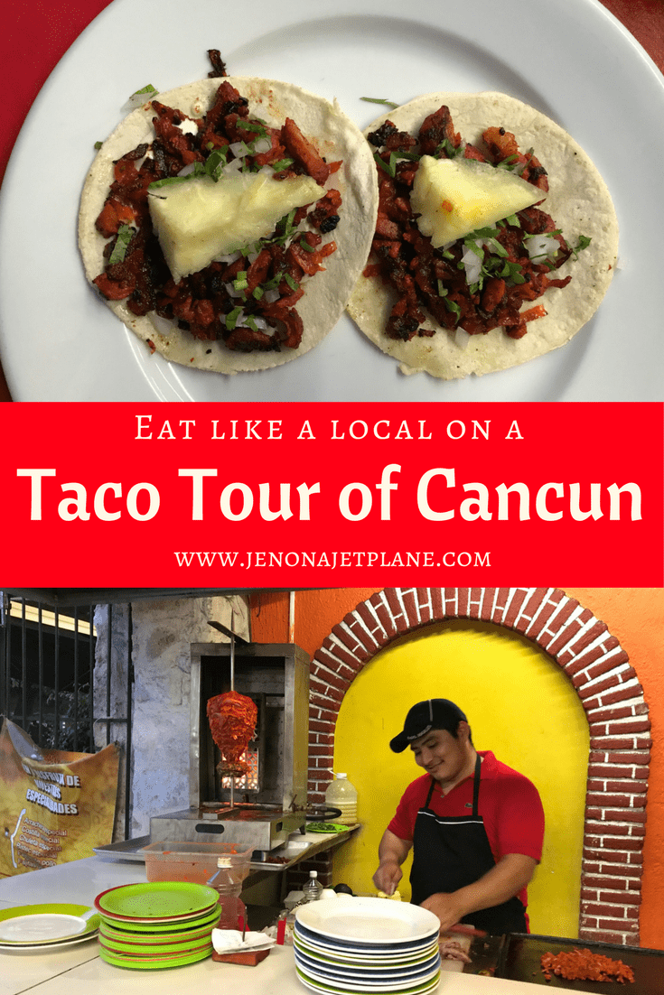 Experience Cancun like a local by going on a Taco Tour of the downtown area. Step away from the hotel room service and try authentic Mexican tacos with the help of a local guide!
