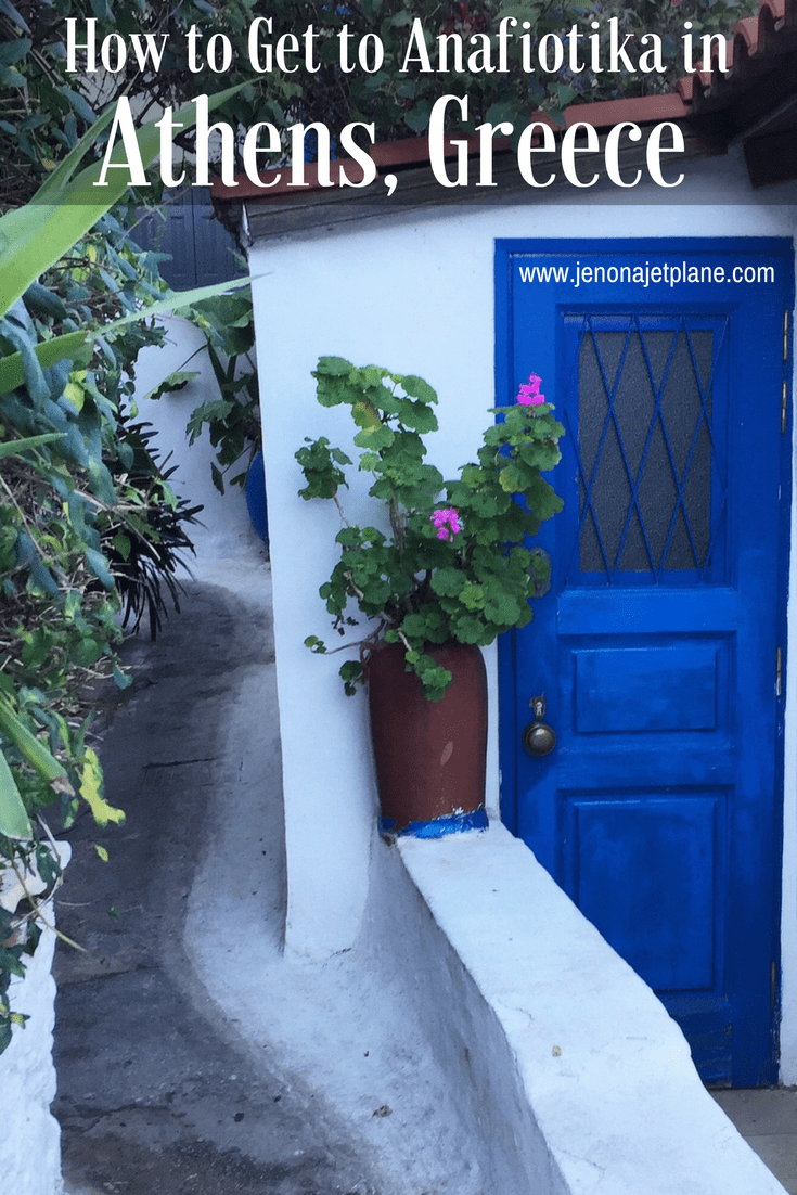 Anafiotika is a hidden slice of the Greek Island in the middle of Athens Greece. Here's everything you need to know to find Anafiotika, including an address and walking directions.
