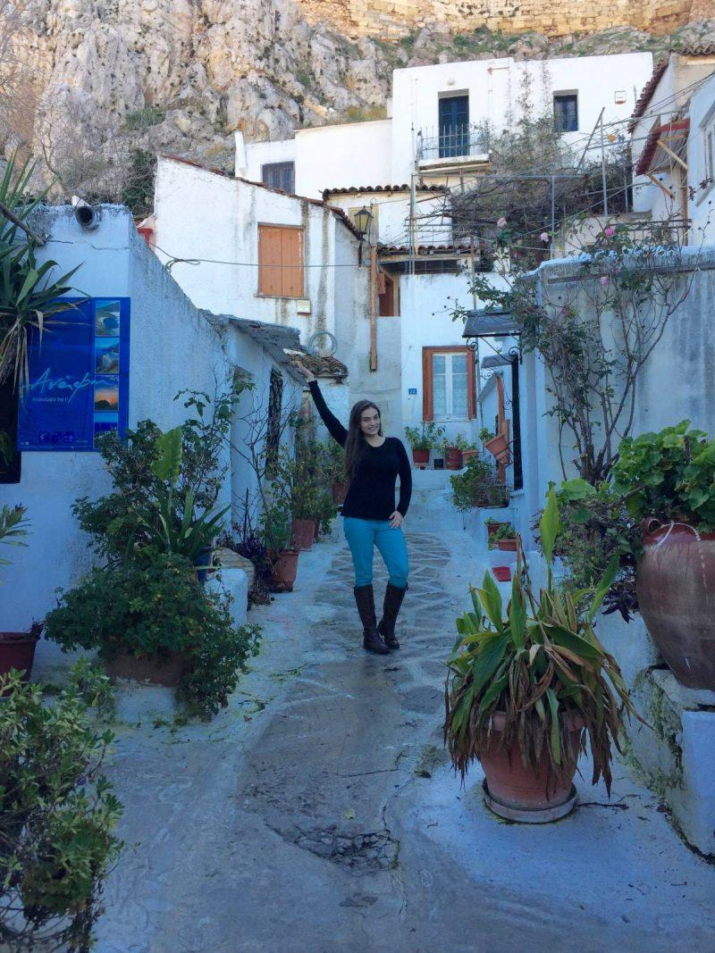 How to get to Anafiotika in Athens, Greece