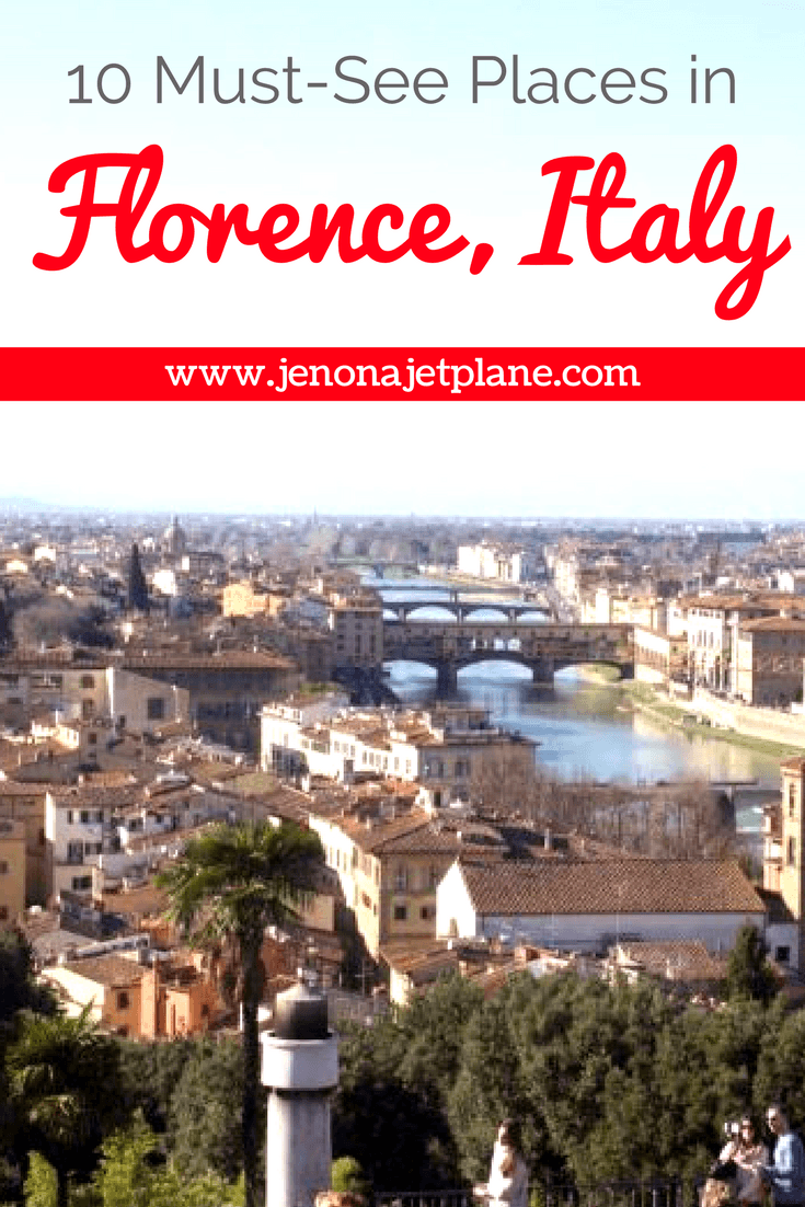 10 must-see places in Florence, Italy. All the best things to do in Firenze, from the David Statute to the Duomo. Don't visit Italy's most famous city without crossing these sites off your list!
