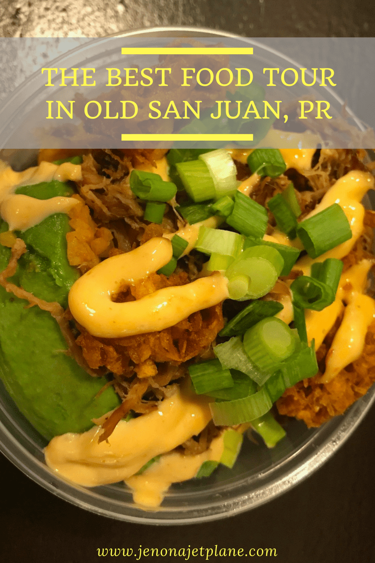 Want to taste your way around Old San Juan, Puerto Rico? Then a food tour with Spoon Food Tours is the way to go. You can stop at 5 distinctly local restaurants and taste common dishes on the island, like mofongo and gelato! Don't miss this food tour next time you'e in Puerto Rico. Save it to your travel board for inspiration.