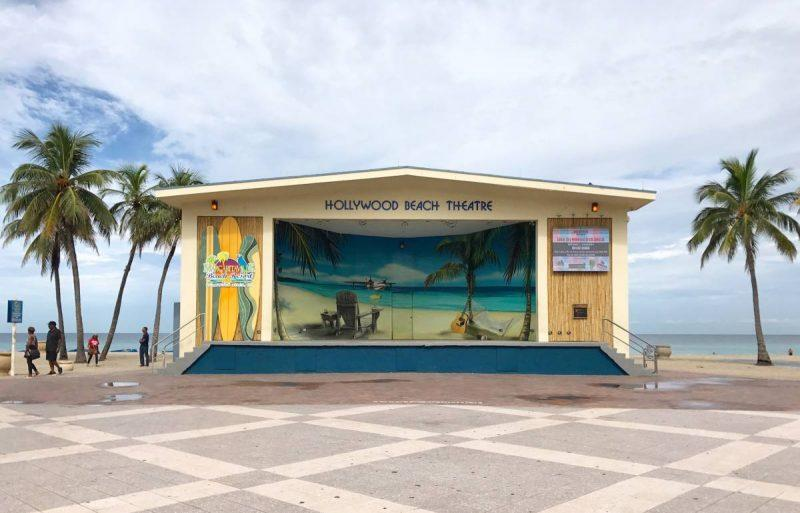 Margaritaville Is Located Adjacent To The Hollywood Beach Boardwalk And Actually Holds Largest Parking Structure For Anyone Hoping Access Area