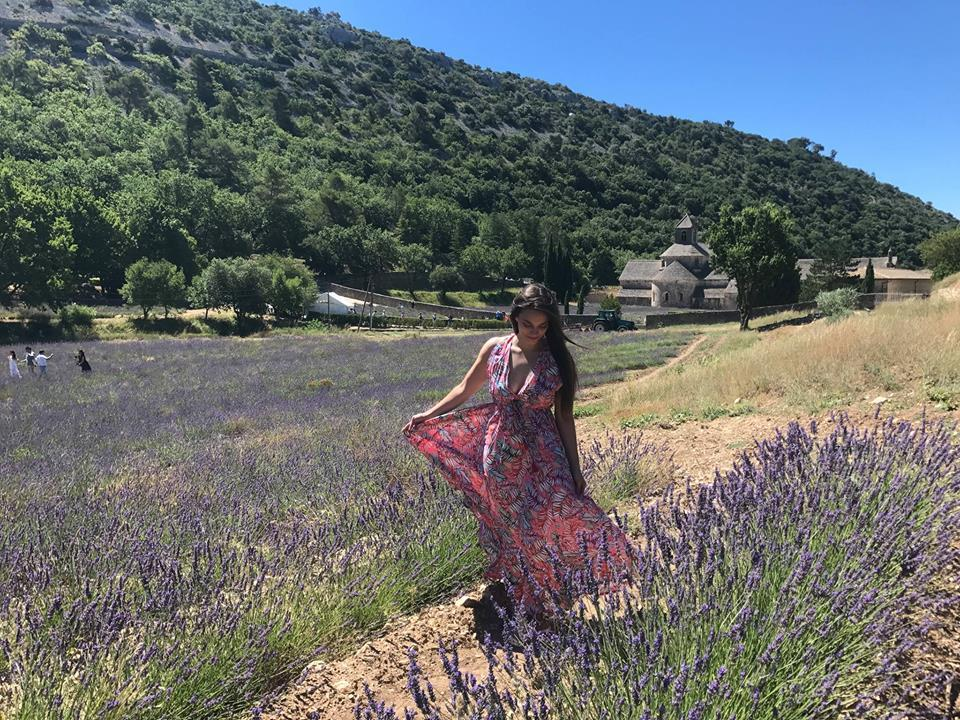 Visiting the Lavender Fields at the Senanque Abbey in Gordes, France