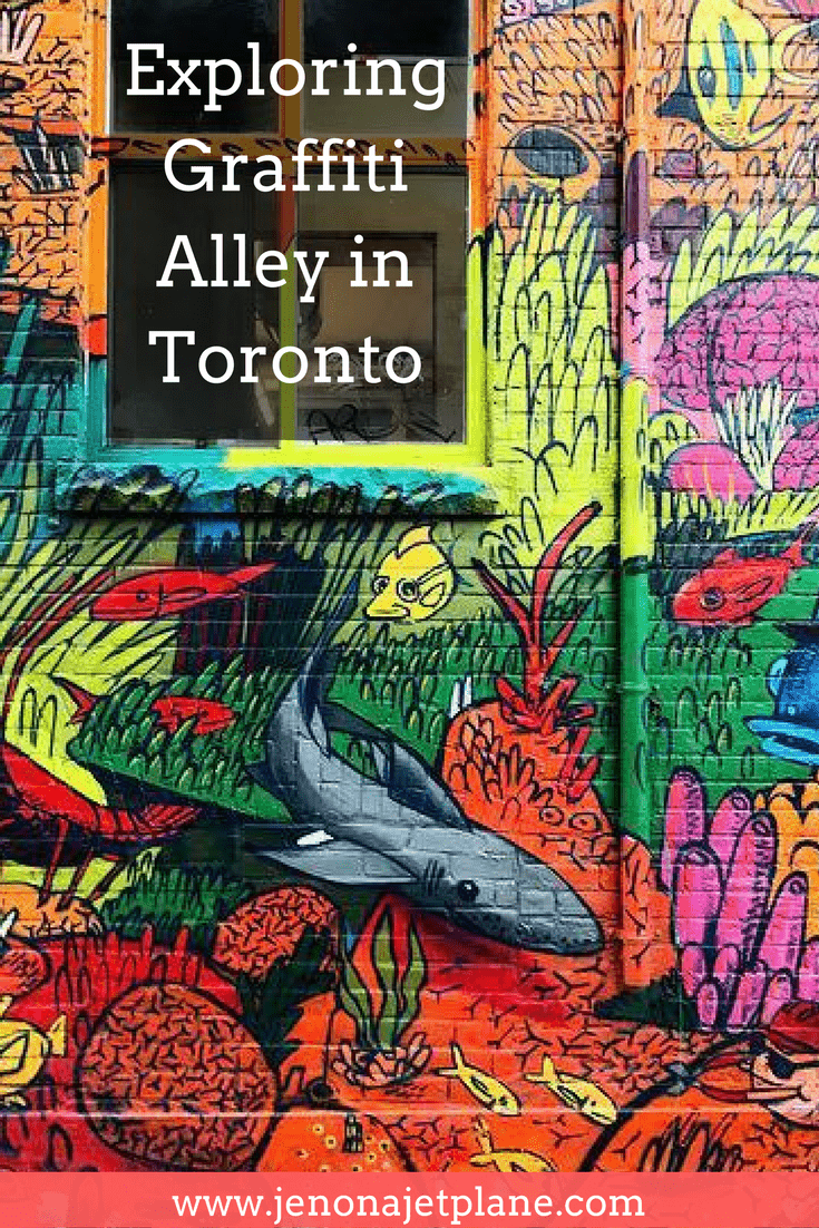 Graffiti Alley in Toronto is one of the best places for street art in the world. Here's everything you know before planning your visit. #canada #torontotravel #graffitialley #streetart #canadatravel #grafittialleytoronto
