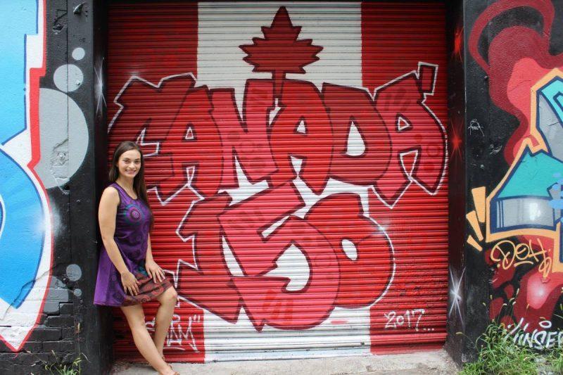 Canada 150 street art