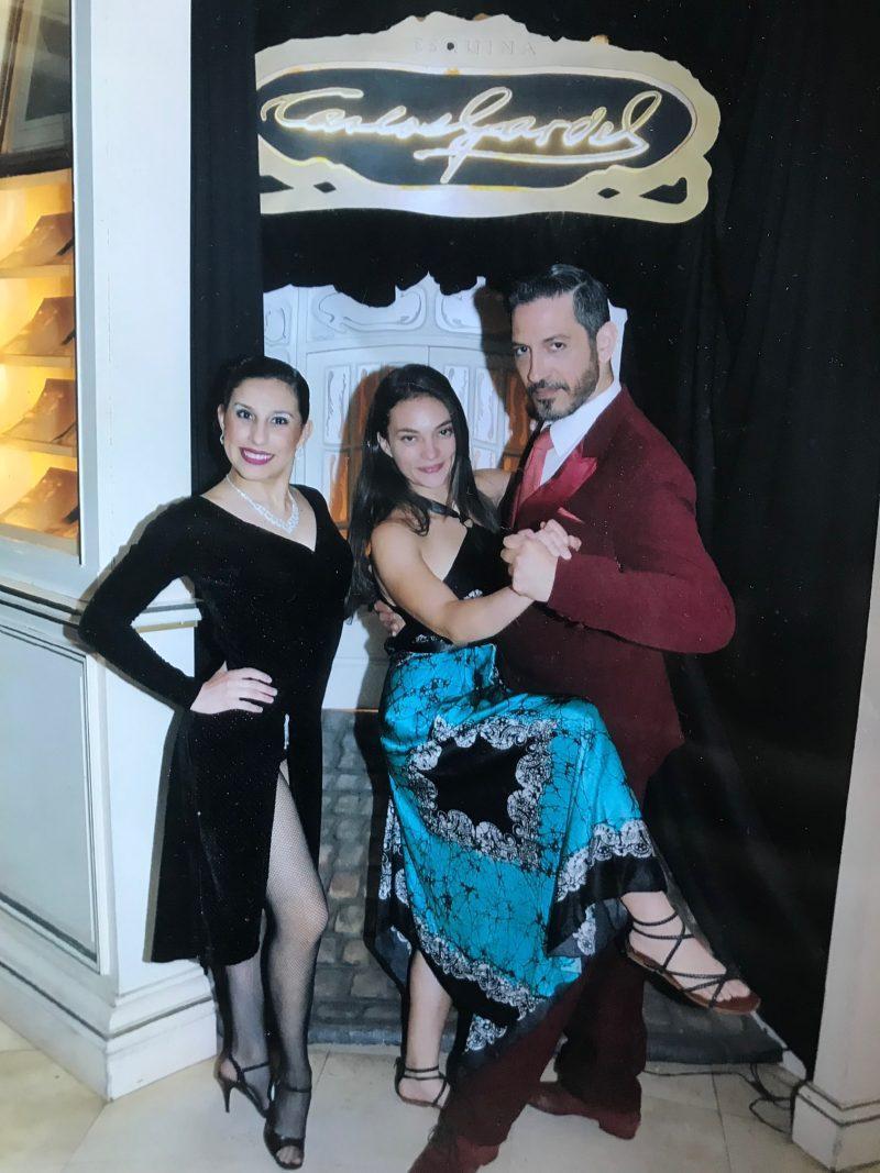 Esquina Carlos Gardel Tango Buenos Aires