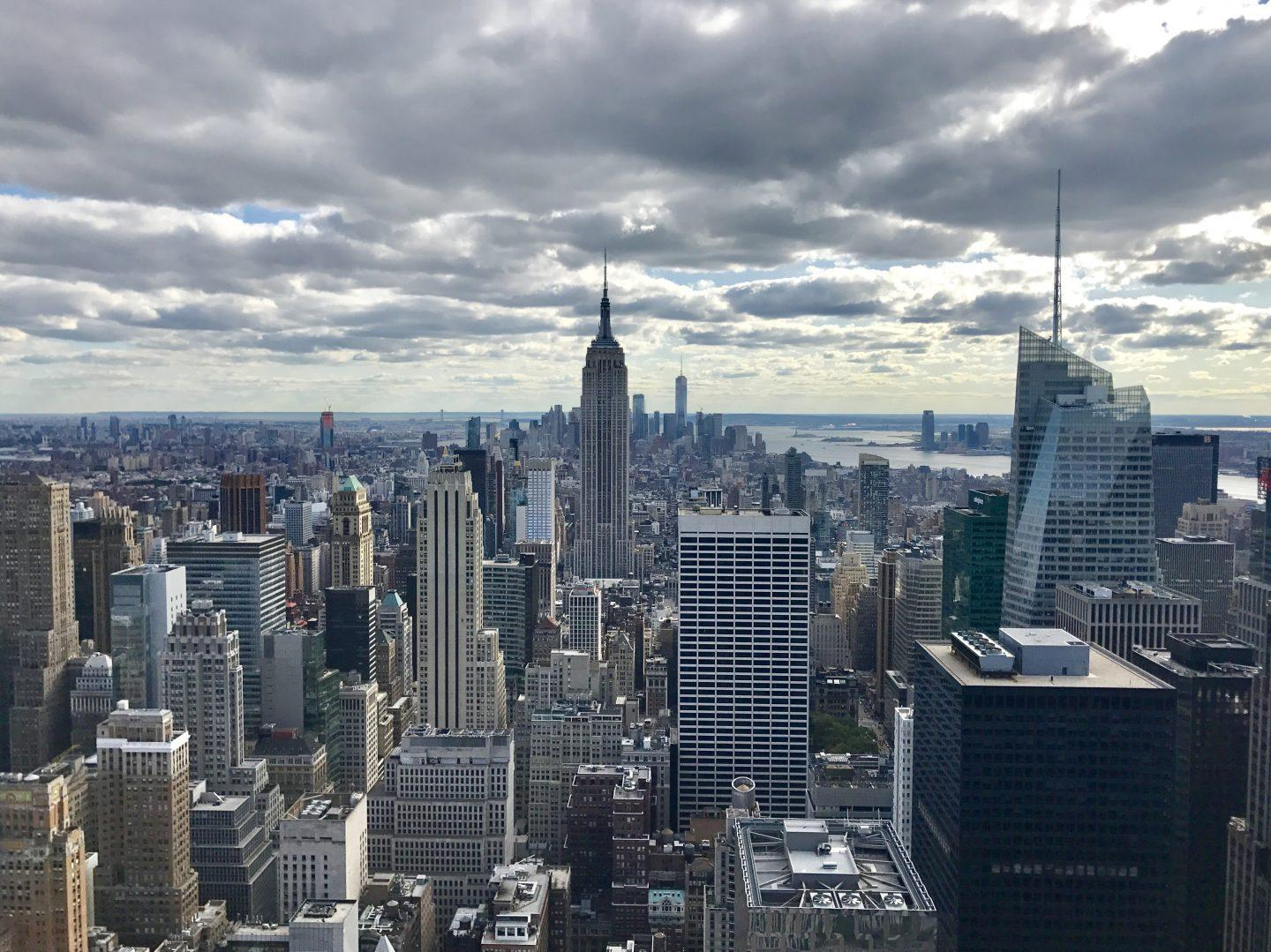 The Best Views of New York City from the Top of the Rock at Rockefeller Center