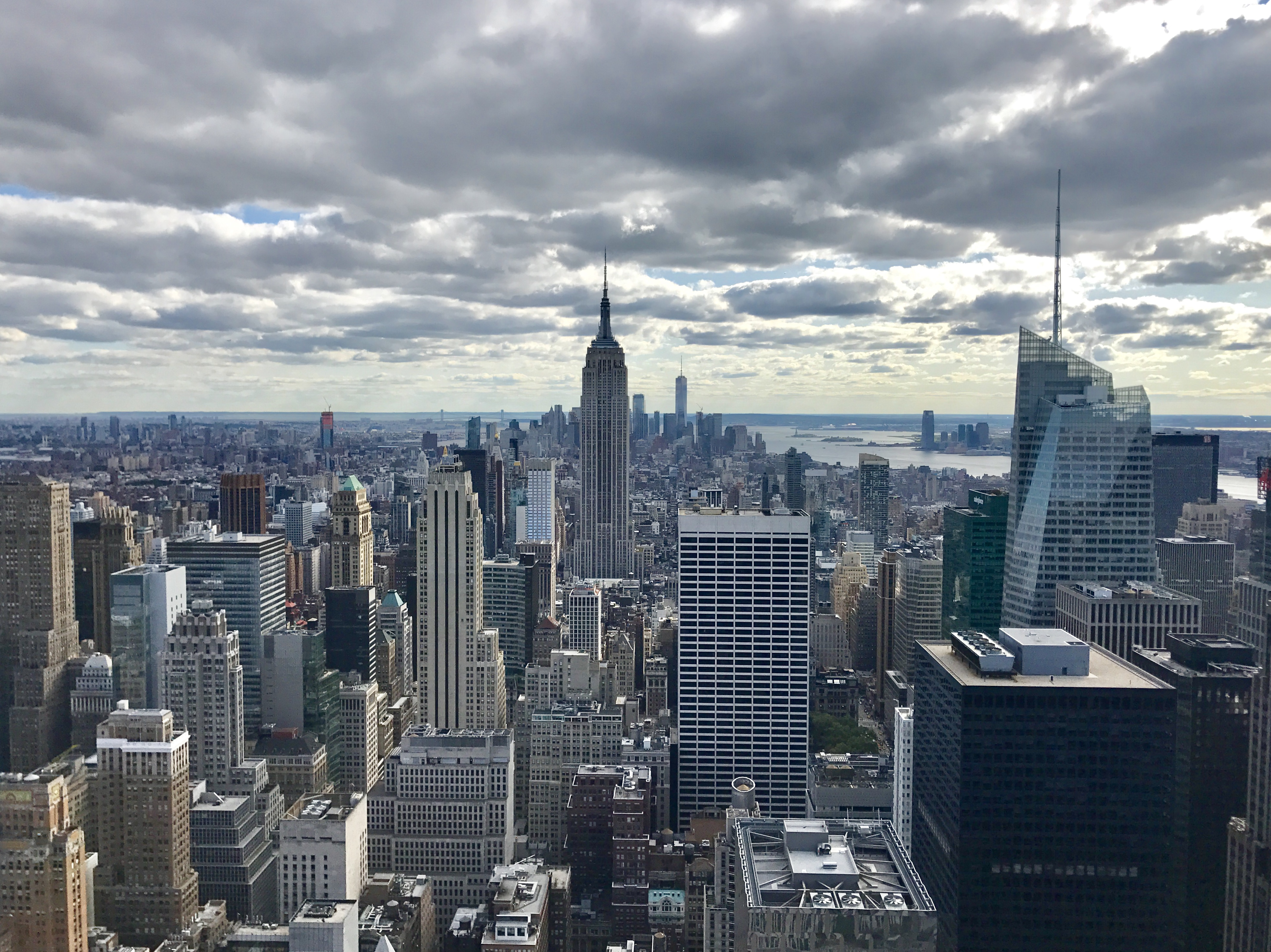 The best views of new york city from the top of the rock for The best of nyc