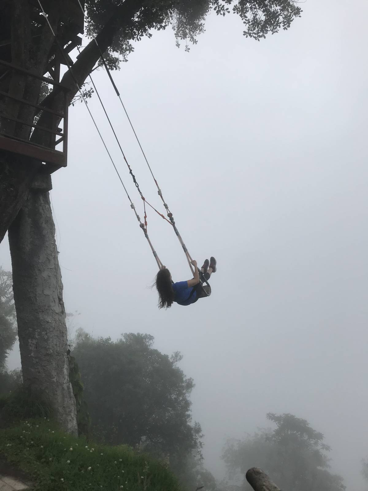How to Get to The Swing at the End of the World in Banos, Ecuador