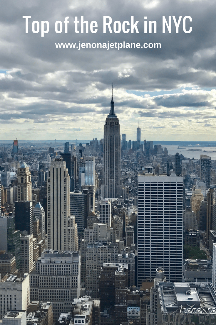 Best Views Of New York City From The Rockefeller Center At Top Of