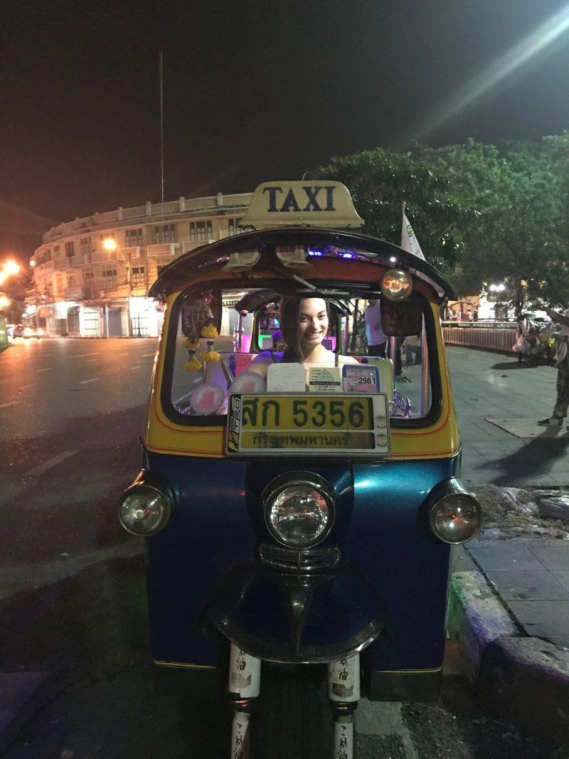 Take an evening tuk-tuk tour of Bangkok, Thailand with Expique