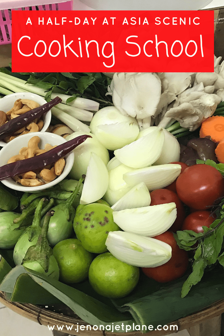 Looking for a great place to experience Thai flavors? Asia Scenic Cooking School in Chiang Mai does not disappoint! Visit a local market and cook authentic dishes on the best cooking class in Thailand. Save to your travel board for inspiration. #thailand #cookingclass #thaifood