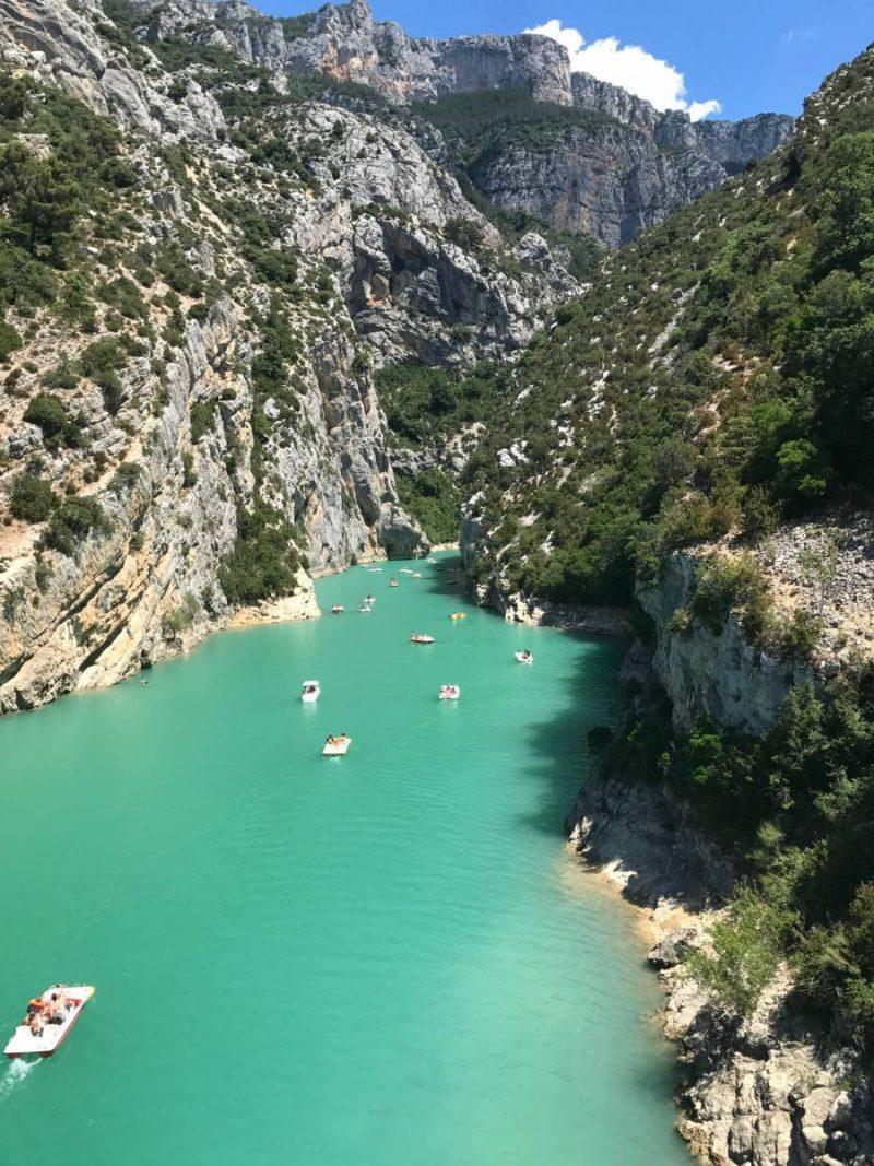 how to plan the perfect visit to lac de sainte croix in the south of france jen on a jet plane